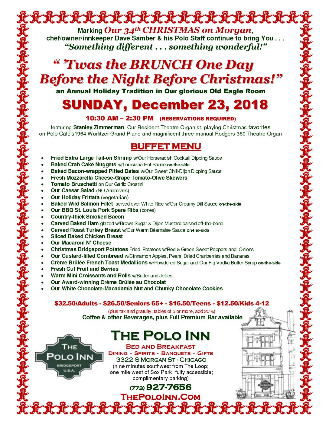 Twas the Brunch 12-23-18 MENU