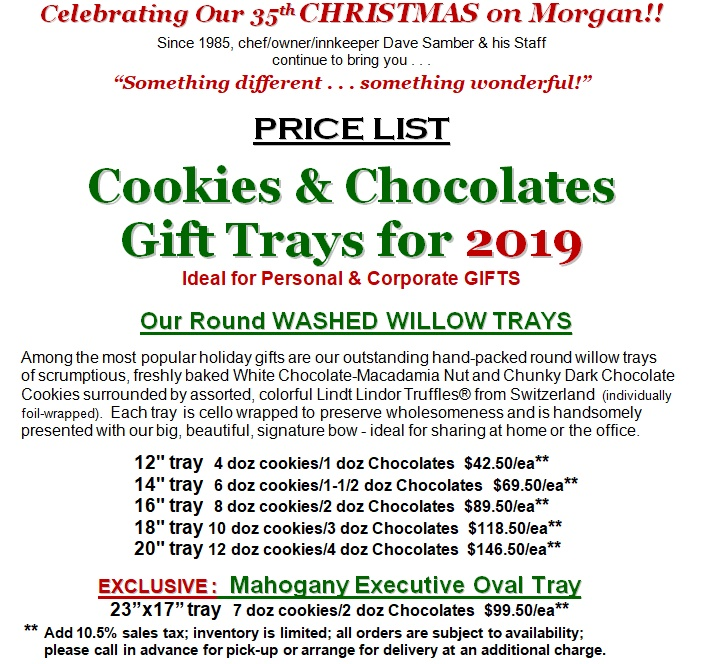 Cookie Tray Price List 2019 JPG